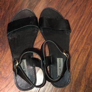 7.5 Black Steve Madden Sandals